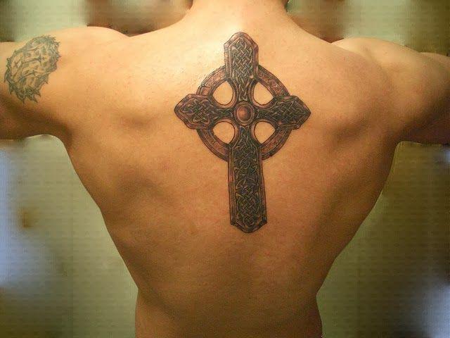 Vintage Cross Tattoo 21