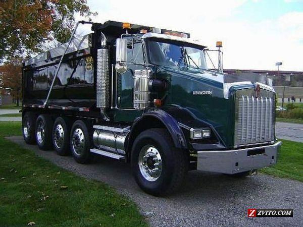 dump trucks for sale | KENWORTH T800 QUAD AXLE DUMP TRUCK ...