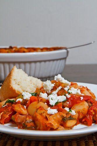 Gigantes Plaki (Greek Baked Beans)   Recipe