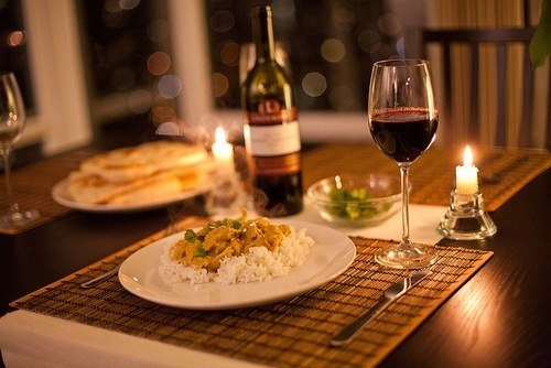 Romantic dinner at home happy anniversary my love for Romantic meal ideas at home