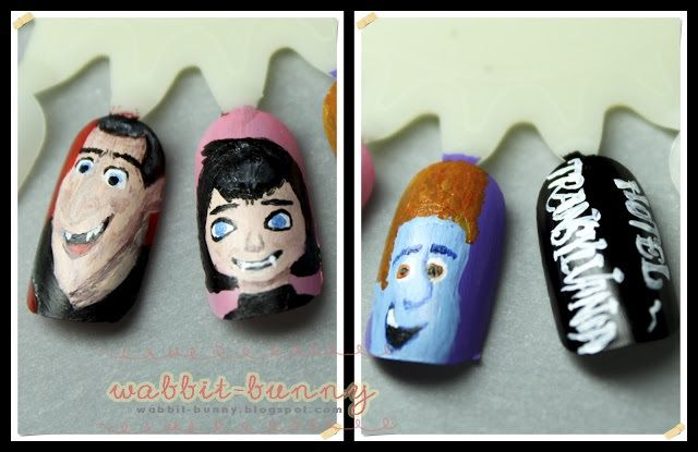 Hotel Transylvania Nail Art | more nails ! | Pinterest
