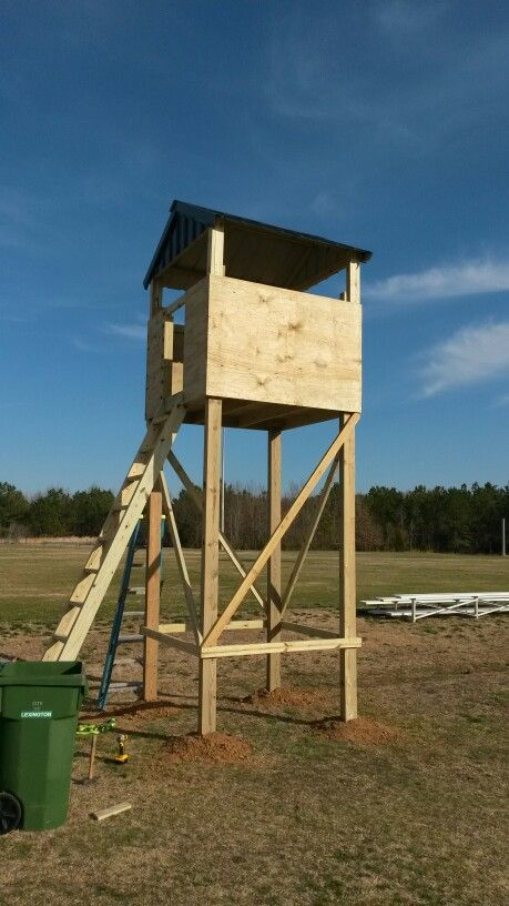 lookout tower soccer complex treehouse playground