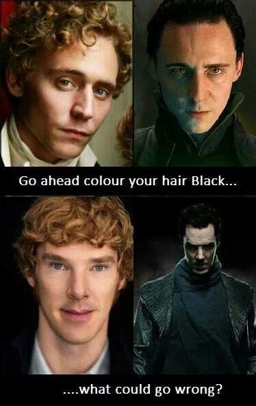 tom hiddleston and benedict cumberbatch hiddlesbatch