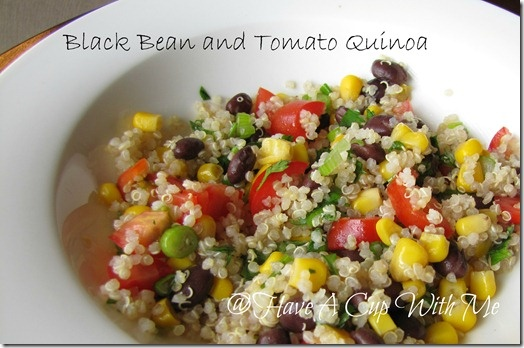 Black Bean and Tomato Quinoa | Recipes | Pinterest