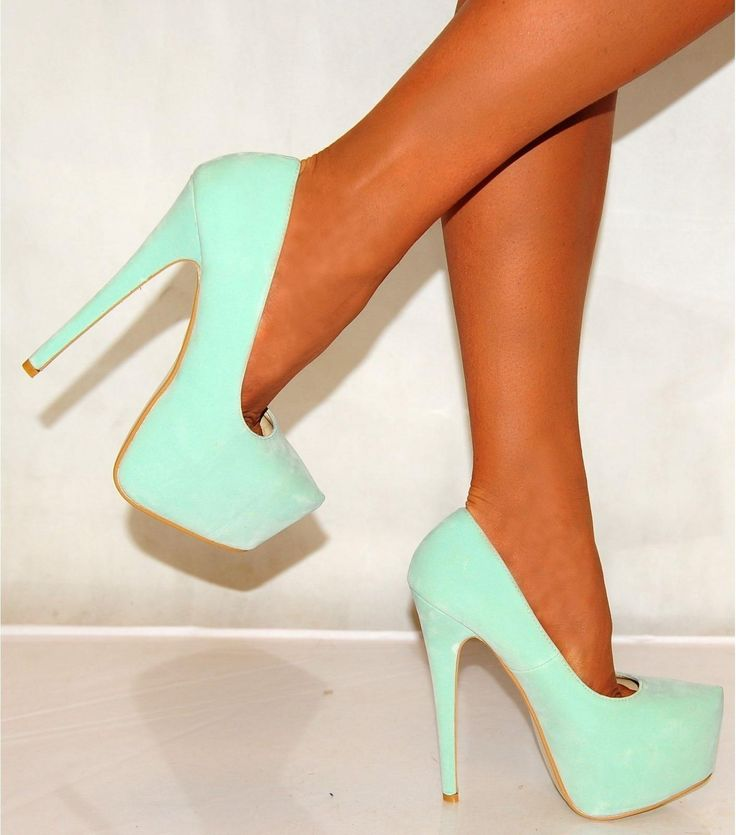 mint green shoes prom