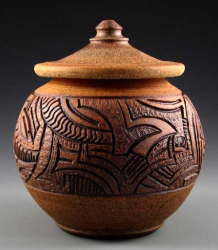 Hand carved pottery by lynn august art inspirations
