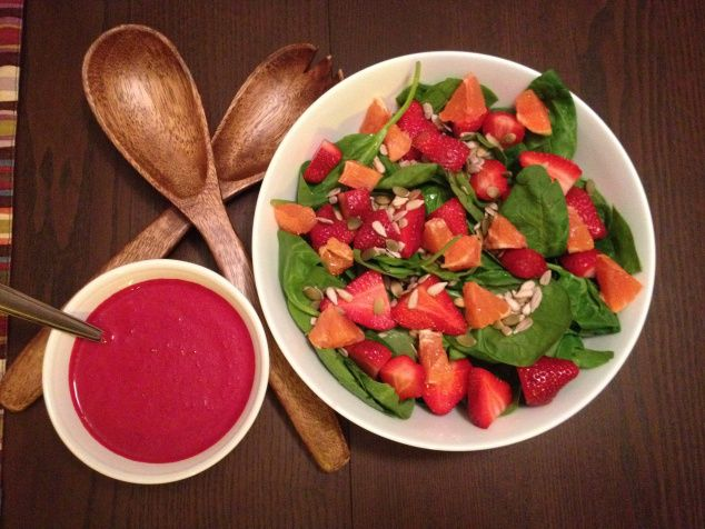 salad salad beet strawberry and orange beet strawberry and orange ...