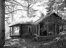 ... , and the difference between cabins and other log structures
