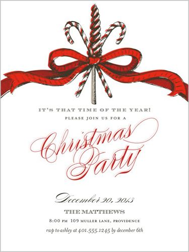 Xmas Party Invite Template for best invitations template