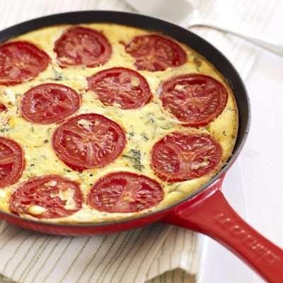 tomato-ricotta pie | Imma Foodie! | Pinterest