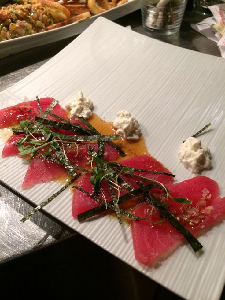 Pin by Marché 27 Bar À Tartare on Crudo and Ceviche | Pinterest