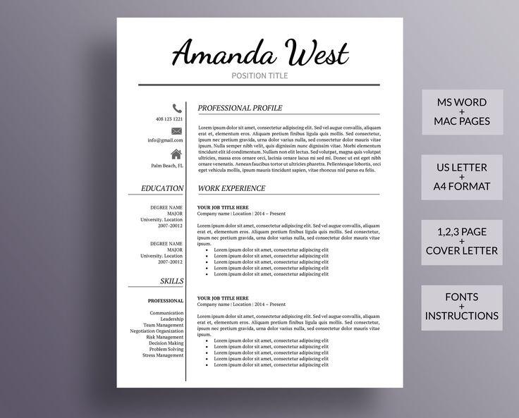 Resume Template, Modern Resume Template, Professional Resume Template, Creative Resume Template #resume #cv #resumetemplate #cvtemplate #JobSearch #jobsearchtips #jobsearching