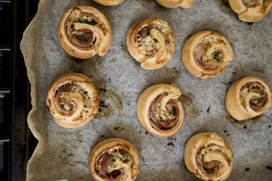 Bacon roly-polies | Foodie spot | Pinterest