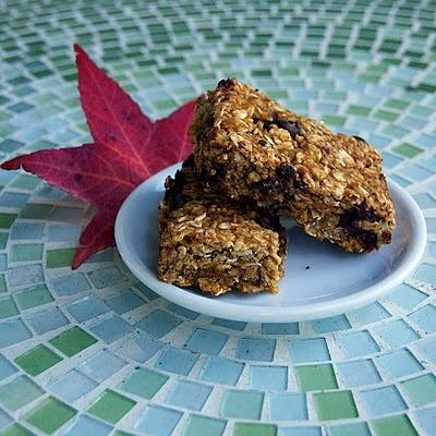 Pumpkin Chocolate Chip Granola Bars | food | Pinterest