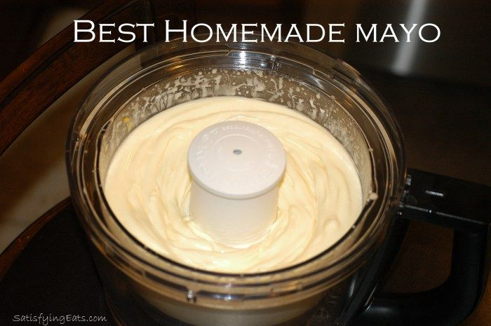 Yes homemade mayo made with olive oil :) | GF it's what's for dinner ...
