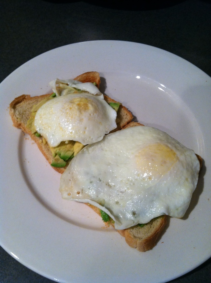 Avocado and egg sandwich ;) | Been there, done that! | Pinterest