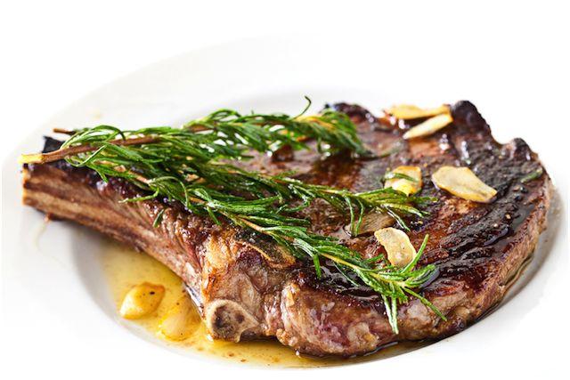 Rosemary Garlic Steak | Recipe
