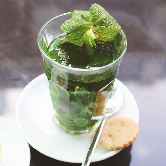 fresh mint tea | sweet peace and tranquil tea | Pinterest