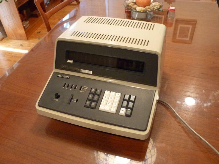 Extremely RARE 1967 Casio Commodore Al 1000 Programmable Nixie Calculator AL1000