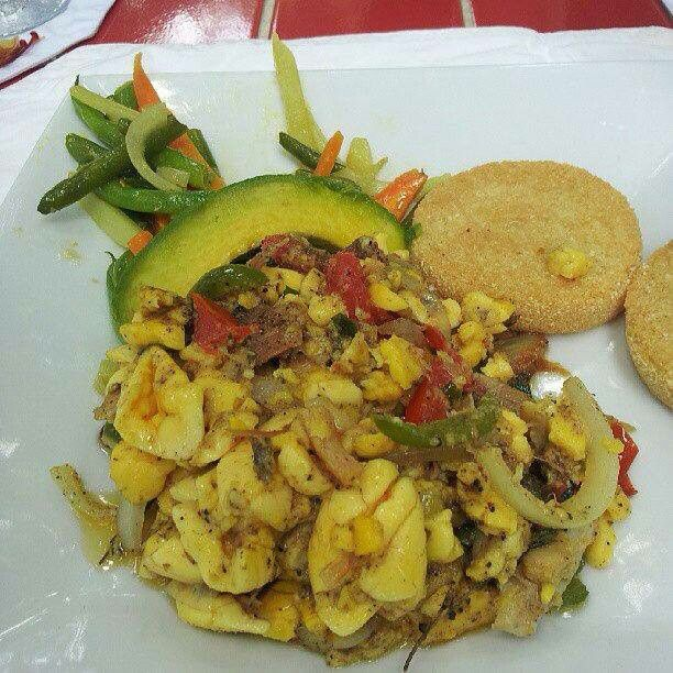 Ackee saltfish recipes pinterest for Salt fish ackee