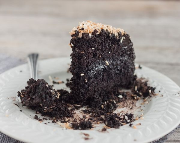 gluten free chocolate layer cake | Delicious Foods | Pinterest