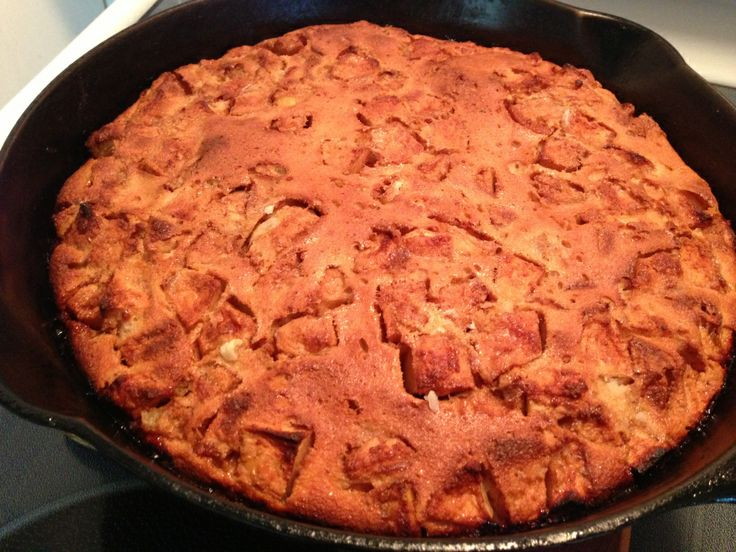 Dutch Apple Pancake-The Primal Food Blog | Great Food | Pinterest