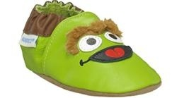 Robeez baby shoes -Oscar the Grouch