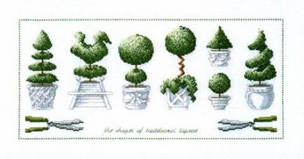 topiary shapes gardening pinterest