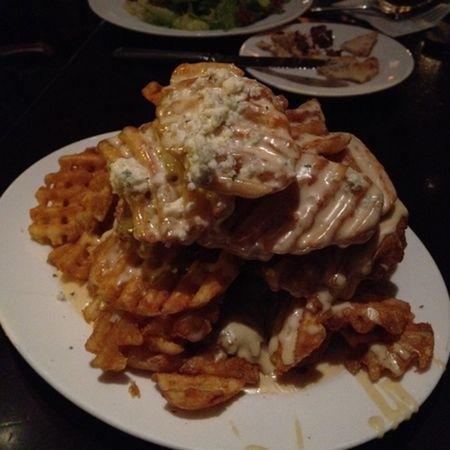Gorgonzola Waffle Frieds | Henry's Tavern in Portland