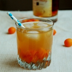 Kumquat Ginger Whiskey Cocktail; we can put a twist on this recipe and ...