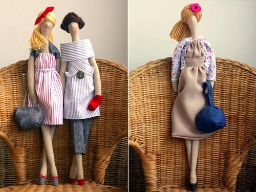 Ткань куклы из польской продавца Etsy сделанные Agah Вы выбираете цвет волос, стиль одежды и т.д.