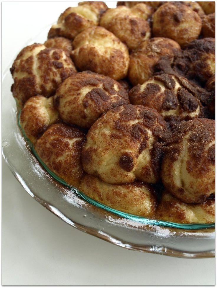 cinnamon-bun bites from evil chef mom | yum | Pinterest