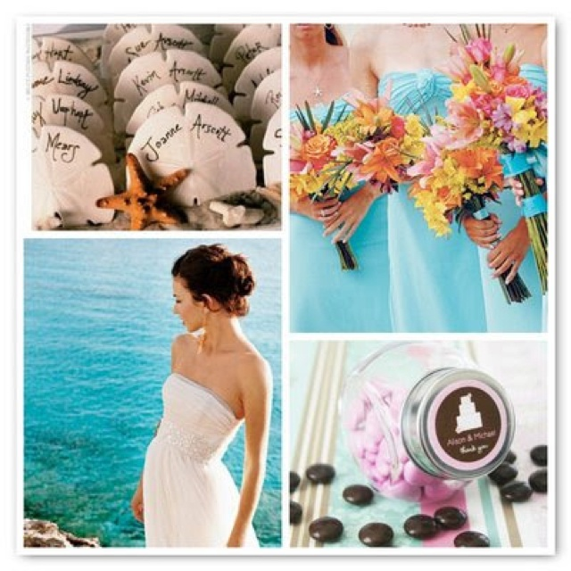 Cute Beach Wedding Ideas