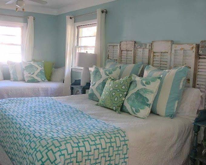 Coastal bedroom newyearnewbed beach house baby pinterest for Coastal cottage bedroom ideas