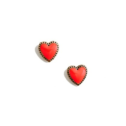 Madewell Secret Heart Earrings