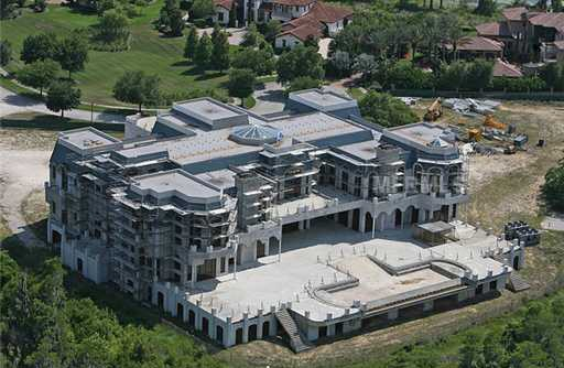 """At 90,000 square feet, """"Versailles"""" is the biggest home in the U.S. The unfinished mega-mansion will be the subject of a documentary. Learn more http://aol.it/KawB0O"""