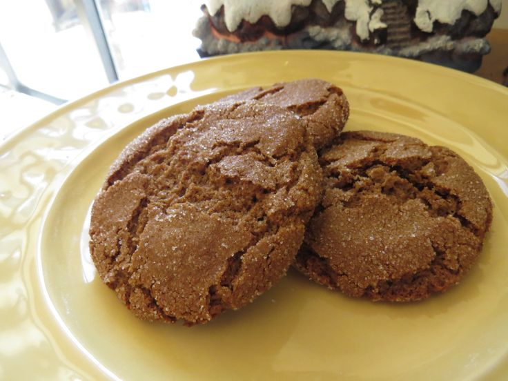 Soft Molasses Cookies ~ Gluten Free and Dairy Free Recipes ...