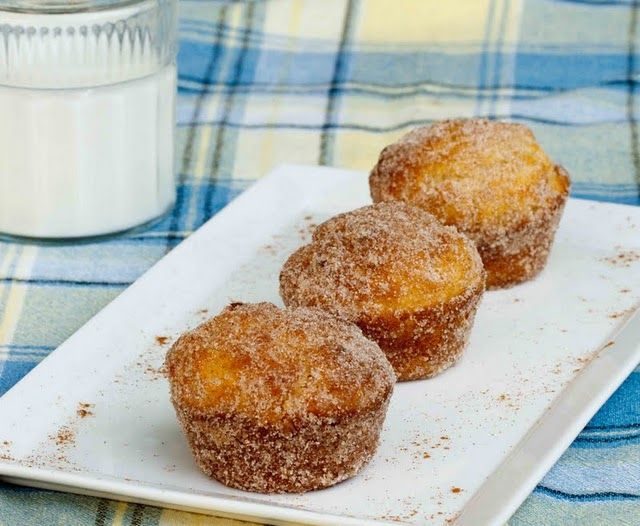Doughnut Muffins and Blueberry Fritters