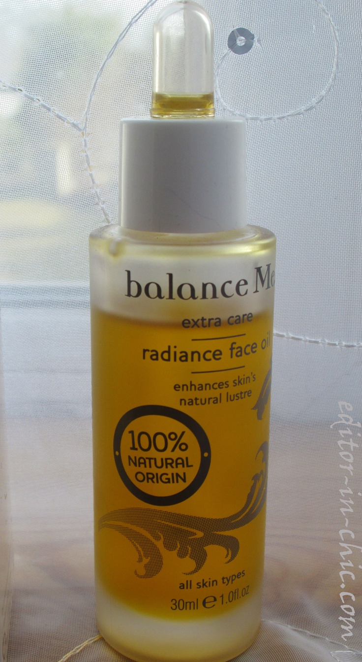 Balance Me radiance oil product review! www.editor-in-chic.com