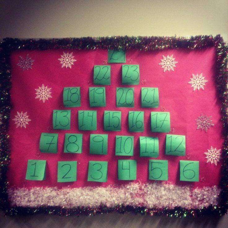 Advent Calendar Bulletin Board : Pinterest discover and save creative ideas