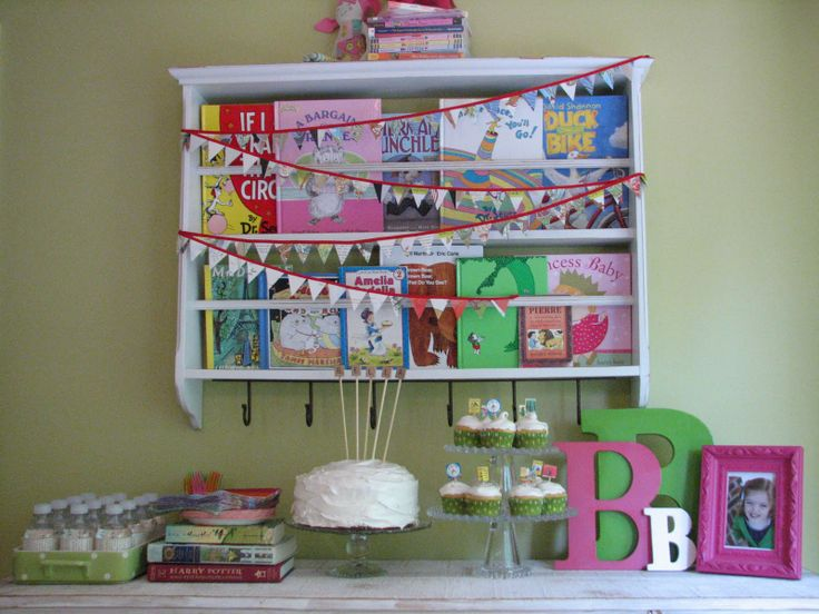 Book Exchange Party! I'd change some of the ideas a bit, instead of a birthday party, just a book exchange where kids can bring whatever books they'd like to trade for new ones. Lots of great ideas for games, decor and goody bags!