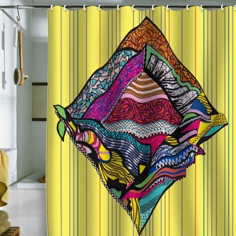 Mikaela rydin quot romb quot shower curtain deny shower curtains pinterest