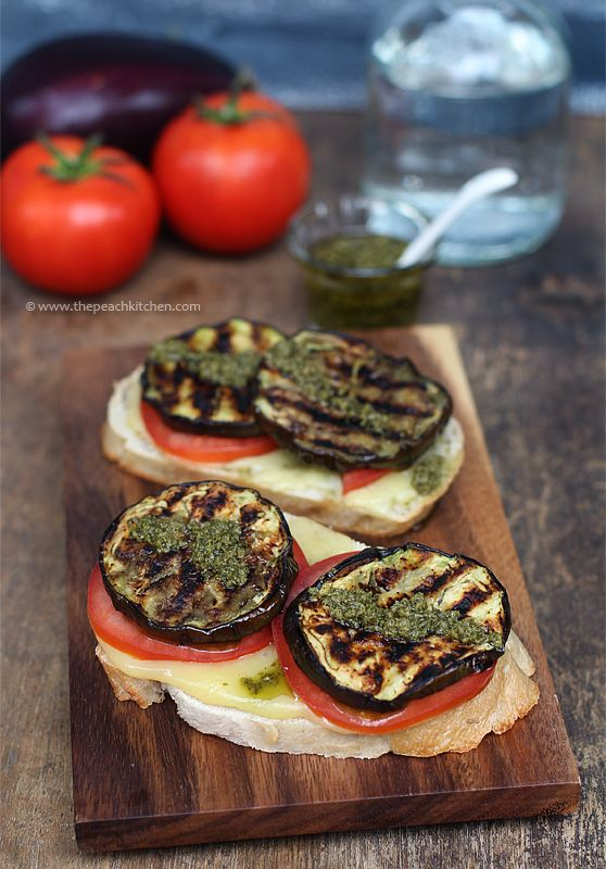 Grilled Eggplant Sandwich | SANDWICHES,ROLLS, WRAPS, CANAPES AND SUC ...
