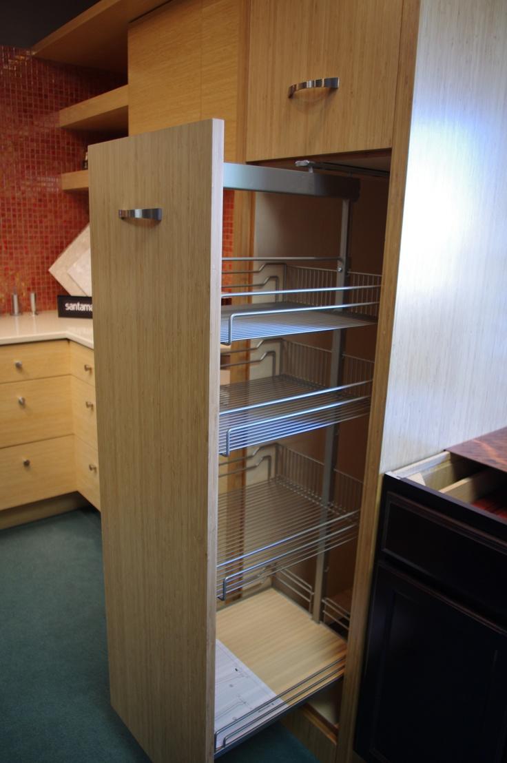 narrow pantry cabinet kitchen pinterest