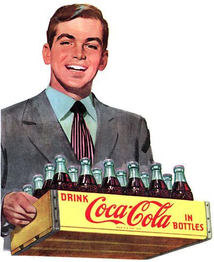 Vintage Coca -Cola.