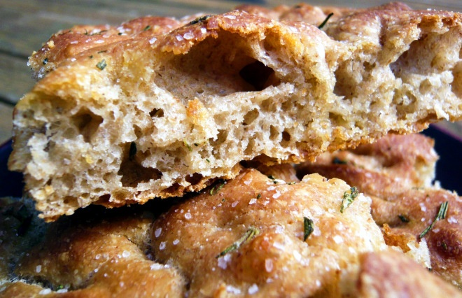 whole wheat rosemary focaccia | Basil, Rosemary and other herbs | Pin ...