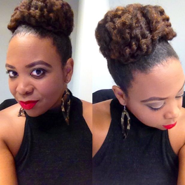 How To Pin Up My Natural Hair