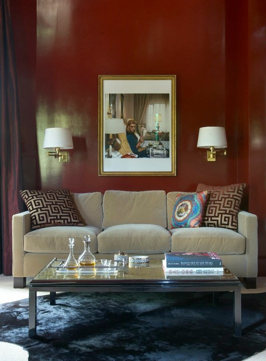 Wall Color Living Room Pinterest