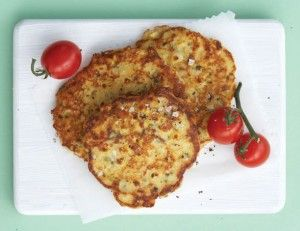 corn and feta fritters | Our Daily Bread | Pinterest