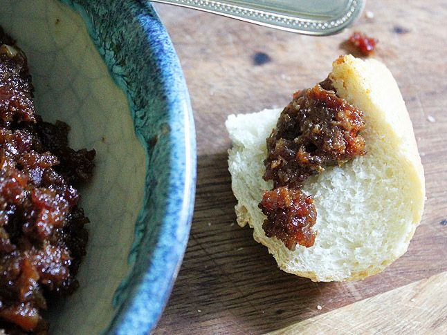 Homemade Bacon Jam....had me at bacon, lost me at jam. But, hey ...